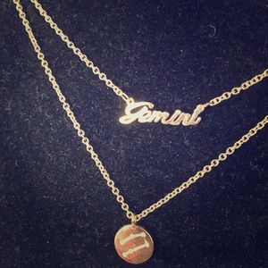 Gemini necklaces!!! 💖🌟💖 Gold tone beauty!!